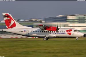 ATR-42-500, OK-JFK, Czech Airliners