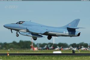 Hawker Hunter  T.68 (ex J-4208 Swiss Air Force)
