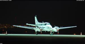 Beech C90 King Air  F-GBLU