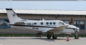 Beech C.90 King Air   F-GBLU