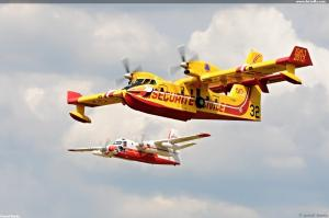 Water bombers Securite Civile Fr.