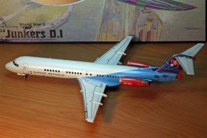 SLOVAK GOVERNMENT FOKKER 100 1:144 Revell