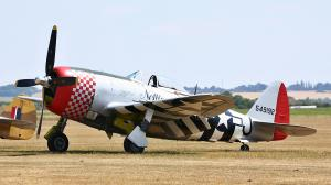 Flying Legends 2018, P-47 Thunderbolt