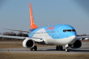 TUI vo farbách Sunwing Airlines
